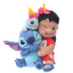 DSJ Hawaiian Stitch Lilo and Stitch plush doll hug and smile