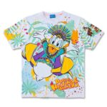 TDR Donald Hot Jungle Summer T-Shirts (S/M/L) Japanese Adult Unisex