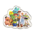 DSJ Toy Story 4 Pin Badge