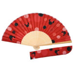 DSJ Minnie Mouse Japanese Folding Fan (Wa)