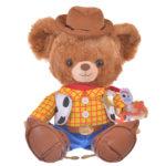DSJ Toy Story 4 Woody Costume Set for Unibearsity Plush Doll
