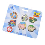 DSJ Toy Story Legacy Season 1 Pin Badge Set