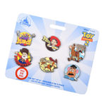DSJ Toy Story Legacy Season 2 Pin Badge Set