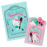 SRO Chocolate Mint Clear Holder Set Hello Kitty