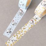 AFT PEANUTS Snoopy In Paris Masking Tape (Yellow/Light Blue)