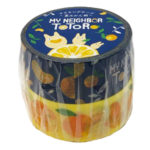 GHI Summer Orange My Neighbor Totoro Washi tape / Masking tape set