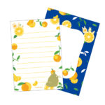 GHI Summer Orange My Neighbor Totoro letter Set