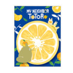 GHI Summer Orange My Neighbor Totoro Sticky Note