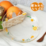 GHI Summer Orange My Neighbor Totoro Glass Plate 18cm