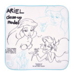 DSJ Little Mermaid 30th Ariel Mini Towel (Sketch)