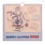DSJ Mickey and Friends Desk Calendar 2020 (Popup)