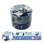 GHI Kiki's Delivery Service Flower Pattern Masking Tape A