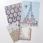 AFT PEANUTS Snoopy In Paris Clear Folder Set