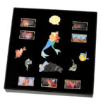 DSJ Little Mermaid 30th Pin Badge set