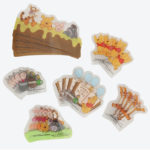 TDR Winnie the Pooh Pooh and Friends Baran Set (Small Plastic Sheet for Japanese Lunch box)