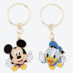 TDR Mickey and Donald Keychain Set