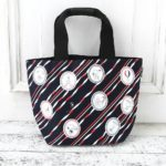 AFT PEANUTS Snoopy In Paris Mini Tote Bag (navy)