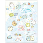 SAX Sumikko Gurashi Sumikko to Umikko 10 Pockets Clear Folder