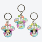 TDR Donald Hot Jungle Summer 2019 Keychain Set