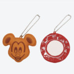 TDR Mickey Pancake and Plate Plush Badge Set