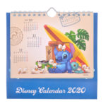 DSJ Lilo and Stitch Desk Calendar 2020 (Popup)