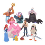 DSJ Little Mermaid 30th Character Figure set