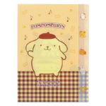SRO Stationery Pom Pom Purin Clear File with Index