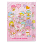 SRO Stationery Sanrio Alll Stars Clear File with Index