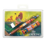 DSJ THE LION KING Collection Stationery Set with Post Card