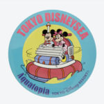 TDR Park Attractions Design Aquatopia Tin Badge