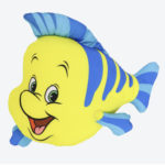 TDR Little Mermaid Flounder Cushion