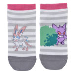 PCO Gengar de Fright Short Socks Gengar and Sylveon