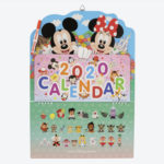 TDR Mickey and Friends Wall Calendar 2020