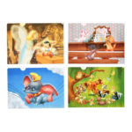 DSJ Classic Disney Character Clear Folder Set