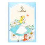 DSJ Garden Alice Dyna Chesire Cat Letter Set with Clear Folder