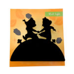 DSJ Chip and Dale Wall light (silhouette)