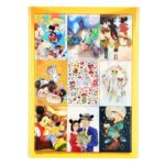 DSJ Postcard Mickey Mouse 90th anniversary illustration collection gift postcard set C