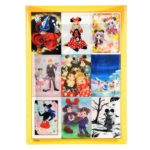 DSJ Postcard Mickey Mouse 90th anniversary illustration collection gift postcard set E