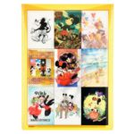 DSJ Postcard Mickey Mouse 90th anniversary illustration collection gift postcard set F