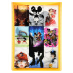 DSJ Postcard Mickey Mouse 90th anniversary illustration collection gift postcard set J