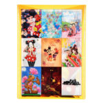 DSJ Postcard Mickey Mouse 90th anniversary illustration collection gift postcard set K