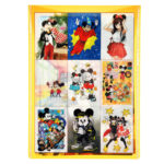 DSJ Postcard Mickey Mouse 90th anniversary illustration collection gift postcard set L