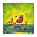 DSJ THE LION KING COLLECTION Lion King Mini Towel Embroidery