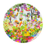 PCO Berry's forest Ghost's castle Melamine plate Forest