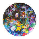 PCO Berry's forest Ghost's castle Melamine plate Castle