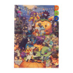 PCO Halloween Festival! A4 3 pocket clear file