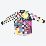 TDR Mickey and Friends Long Sleeve Shirts S/M/L Japanese Adult Unisex