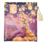 DSJ Rapunzel Lantern Night Folding Mirror