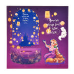 DSJ Rapunzel Lantern Night LED Rapunzel and Pascal Acrylic Stand