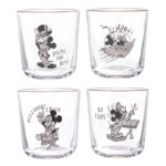 DSJ Mickey & Minnie Tumbler 4P Set Retro